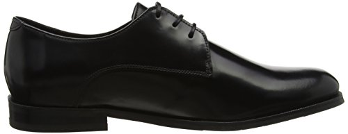 Royal Republiq Alias Classic Shoe, Derbys Homme Schwarz (Black)
