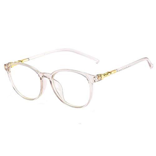 Meisijia Kunststoff-Brillen Rahmen klare Linse Gläser Männer Frauen Plain Brillen Dekorative Ultralight Glas-Rahmen