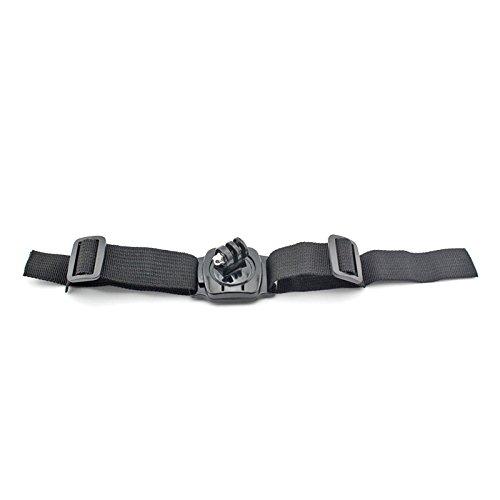 J 360 Degree Helmet Head Strap Mount Base + 3M Adhensive Sticker For Gopro Hero 1 2 3 3+ 4 Sprots Camera Sjcam Sj4000 sj4000 wifi Sj5000 Sj5000x Xiaomi Sports Action camera Black  available at amazon for Rs.490