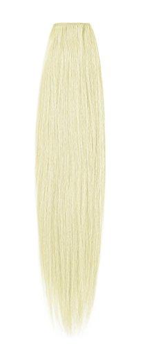 American Dream original de qualité 100% cheveux humains 61 cm soyeuse droite trame Couleur 60 – Blond Pur