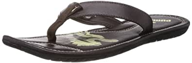 Puma Men's Maze Java and Transparent Yellow Flip Flops and Thong Sandals - 9 UK/India (43 EU)