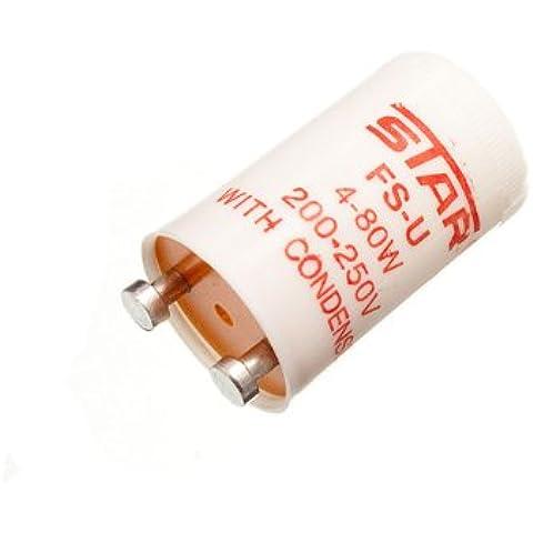 80w fluorescente striscia luminosa interruttore di avviamento unità (confezione da 5) - Fluorescente Avviamento