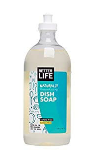 Better Life Dish It Out Dish Soap Clary Sage and Citrus, 22 oz