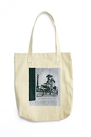 Tote bag with Lexington, 1942A GRUMMAN AMPHIBIAN