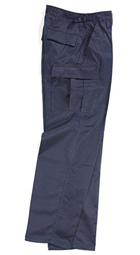 Robuste + Komfortable US Style Rangerhose Freizeithose Kampfhose viele verschiedene Farben XXS-XXXL (XL, Blau)