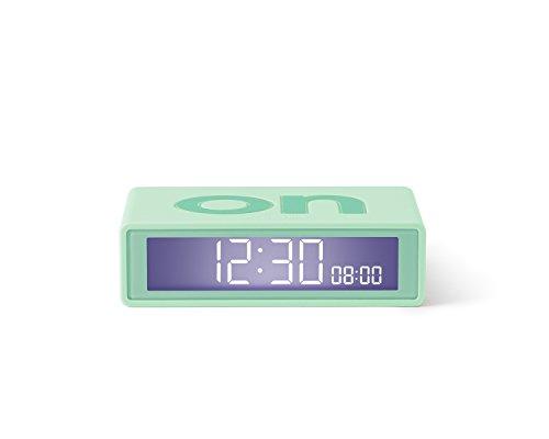 Lexon LR143VC8 - Despertador tapa pantalla LCD viaje