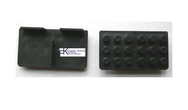 Plattenlager 20 St/ück Randst/ücke Stelzlager 1 cm Auflage 3 mm
