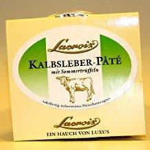 Lacroix, Lacroix Kalbsleber Pâté mit Sommertrüffeln