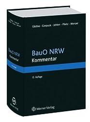 BauO NRW Kommentar