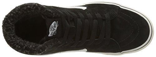 Vans Sk8-Hi, Baskets Basses Mixte Adulte Noir (Black/Black/Black)
