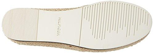 Tommy Hilfiger S1385py 1d2, Espadrilles Femme Blanc (Whisper White-black 904)