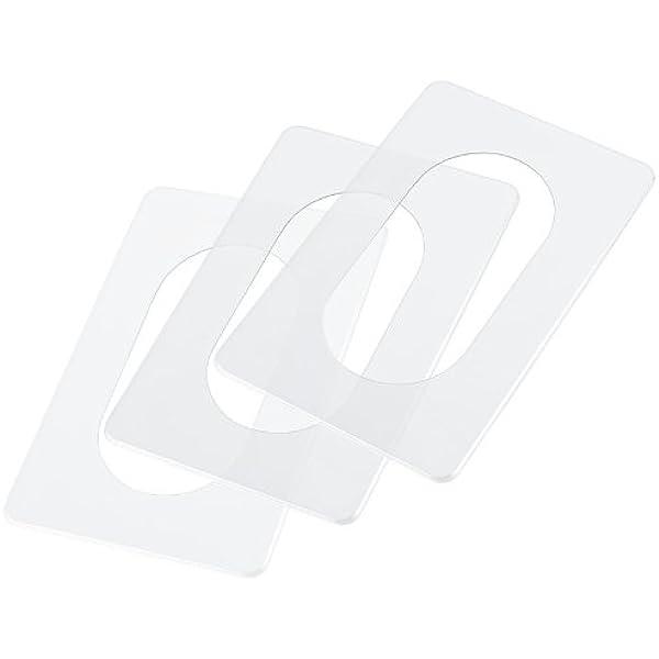 Vosarea 3 St/ück Lichtschaltersticker Lischtschalter Deko Wandplatte Abdeckung f/ür Steckdosen Zuhause Kinderzimmer Weinachten Neujahr Party Wand Dekoration Ornament Wei/ß