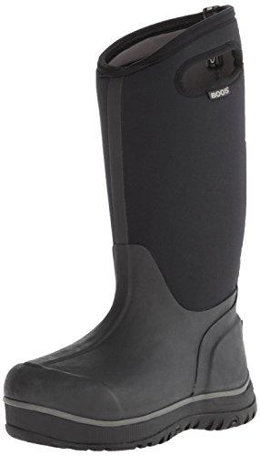 Bogs Classic Ultra 51537, Unisex - Erwachsene Gummistiefel mit hohem Schaft, schwarz, 37 EU / 4 UK (Bogs Stiefel Frauen)