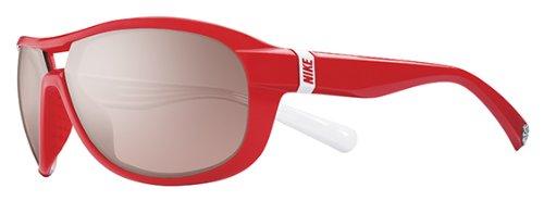 NIKE Sonnenbrille MILER E EV0614 616 Rot/Weiß 65MM
