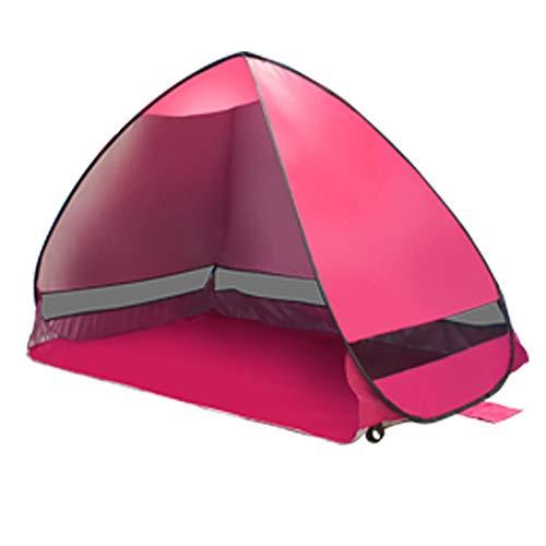 Spfree Pop Up Zelt, Automatisches Outdoor-Zelt für 2-3 Personen Schnellöffnungs Wurfzelt mit Tragetasche
