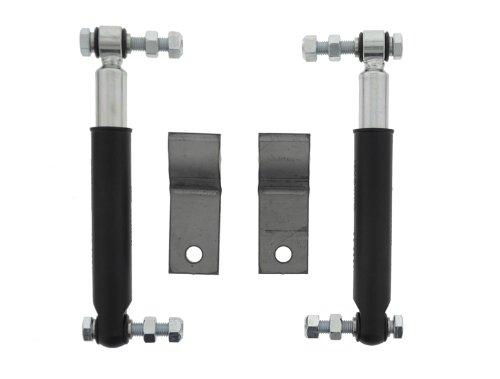 Set Achsstoßdämpfer von The Drive (2 Stück) 600 bis 1800 kg -Knott Nr. 990001 + Schraubensatz + Halter (43737) (für 100 km/h Regelung)