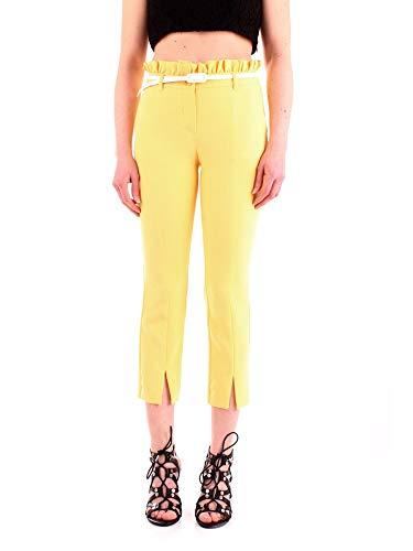 Pantalones amarillos ligeros para mujer