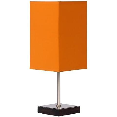 Lucide Duna-Touch 39502/01/53 - Lampada da tavolo in metallo, colore: Arancione