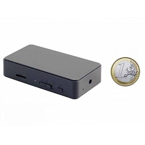 Mini camara espia HD 720p. Activacion por deteccion de movimiento, deteccion de sonido o vibracion. 10 horas de autonomía.
