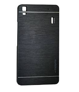 AE MOBILE ACCESSORIES AE BRUSHED METAL HARD BACK COVER CASE FOR LENOVO A7000/K3NOTE BLACK