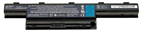 Packard Bell Li-Ion 6 Cell 4400mAh Lithium-Ion 4400mAh 11.1V batterie rechargeable - batteries rechargeables (Lithium-Ion (Li-Ion), 4400 mAh, Ordinateur portable/tablette, 11,1 V, 48 Wh, Noir)