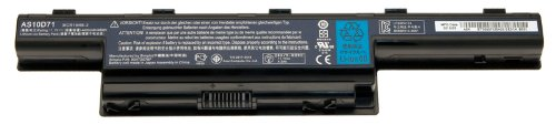 Acer BT.00607.126 batterie de Notebook Lithium-Ion (Li-Ion) 4400 mAh 10,8 V - Composants de notebook supplémentaires (Lithium-Ion (Li-Ion), 4400 mAh, 10,8 V, Acer, Aspire 4741, 4741G, 4741Z, 4741ZG, 5251, 5551, 5551G, 5741, 5741G, 5750, 5750G, 7551, 7551G,..., Noir)