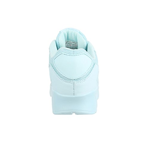 Alla moda Unisex Sneaker | Bambini Uomo Donna Sport Scarpe da corsa | turnschuhe| chunkyrayan lt.Blue L.A.