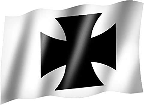 Iron Cross Flag Flag State or Flag / Hissflagge with Eyelets 150 x 90 CM-Very good quality