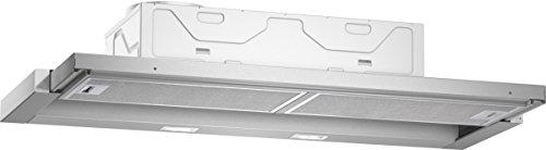 Neff  Einbau-Dunstabzugshaube N50 / 90cm / Abluft oder Umluft / Energieeffizienz A / silbermetallic