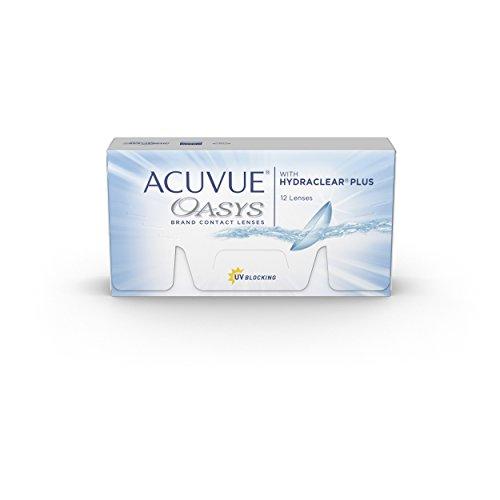 Acuvue Oasys 2-Wochenlinsen weich, 12 Stück / BC 8.4 mm / DIA 14.0 / -1.75 Dioptrien