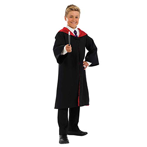 Fun Shack FNK3592XL Kostüm, Unisex Children, Wizard Gown & Wand, XL (Wizard Harry Potter Roben)