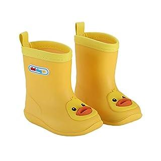 Rain Boots Kids Waterproof Water Shoes Non-Slip Rubber Boots Warm Children Rainboots-Fun Comfortable Animal Designed Shoes