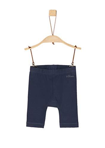 s.Oliver Baby-Mädchen 65.904.75.2769 Leggings, Blau (Dark Blue 5874), Herstellergröße: 86