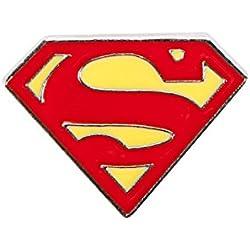 DC Comics Superman Logo Molded Enamel Lapel Pin