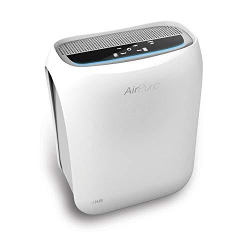 HB AP2040DW Purificador de Aire, 50 W, 30 Decibeles, Polímero Libre de BPA, 3 Velocidades, Blanco
