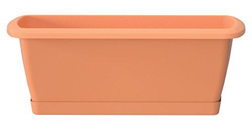 Prosper Plast ise600p-r62459x 18,4x 14,5cm'Espana' Balkon-Set mit Ständer–Terracotta...