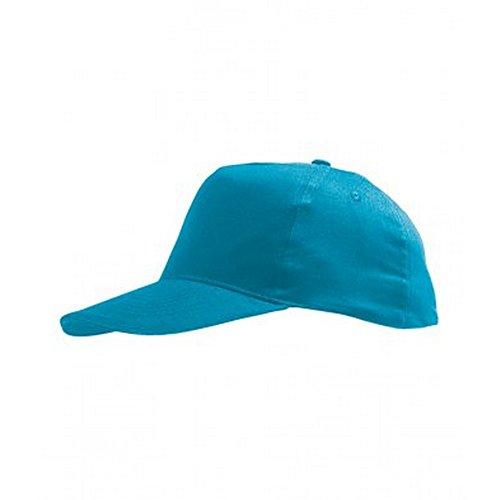 Sols - cappellino tinta unita - bambino unisex (taglia unica) (azzurro acqua)