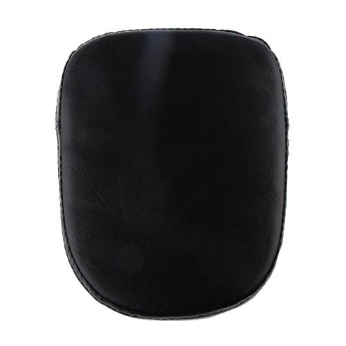 Shiwaki Nero Coprire Cuscino Sedile Posteriore Accesori Motocicolo 220mm*225mm*50mm