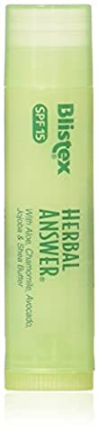 Blistex, Herbal Answer, Lip Protectant/Sunscreen, SPF 15, 0.15 oz (4.25 g)