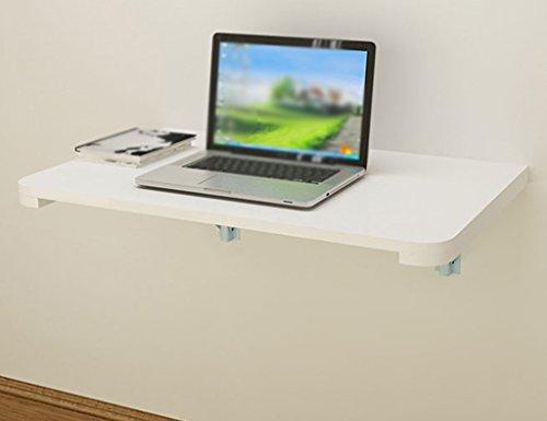 Lpymx scrivania per computer fissata al muro tavolo pieghevole in