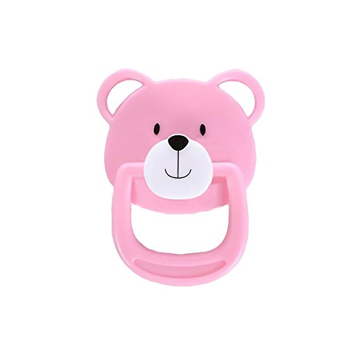 hnuller Süße Bär Magnetischer Schnuller Nippel Reborn Puppe Zubehör für Neugeborene Baby Puppen 4 Styles erhältlich ()