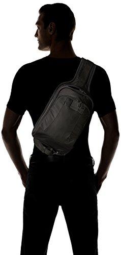 Pacsafe Metrosafe LS150Diebstahlschutz Sling Rucksack, schwarz (schwarz) - 30415 schwarz