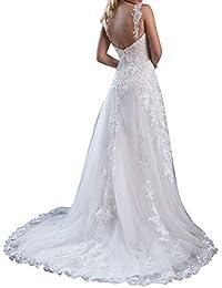 Amazon.es: vestidos de novia baratos - Corte imperio / Vestidos / Mujer: Ropa