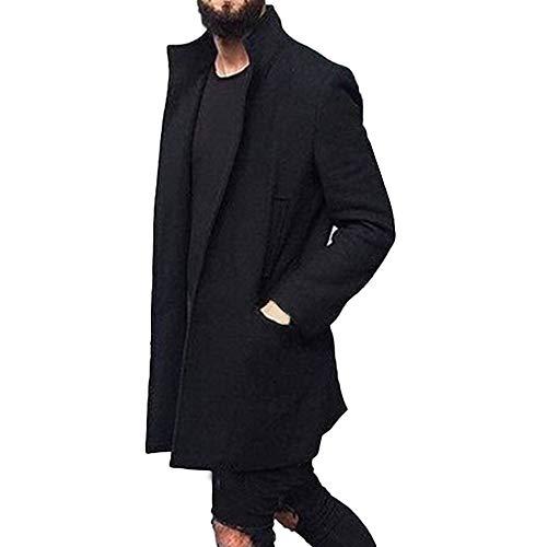 Alikeey giacca da top cardigan outwear manica lunga con maniche lunghe da uomo in design nuovo inverno caldo slim fit