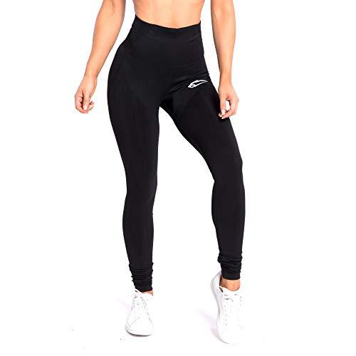 SMILODOX Damen Leggings High Waist Ally | Seamless - Figurformende Tight für Fitness Gym Yoga Training & Freizeit | Sporthose - Workout Trainingshose, Farbe:Schwarz, Größe:S