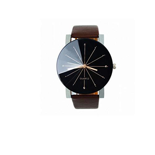 Franterd® Herren-Armbanduhr Quarzuhr Armbanduhr Elegant Uhr Modisch Zeitloses Design Klassisch Leder Kaffee
