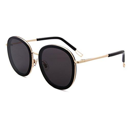 YGyanjing Hot Fashion Sonnenbrille Sun UV-Schutz Brille polarisierte Leichte Einkaufs Tourismus Street Beat Damen Fashion voller UV400 a