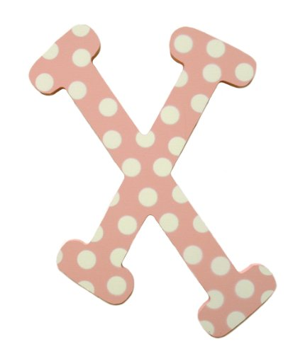 My Baby Sam Polka Dot lettres, Rose/blanc