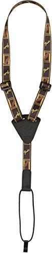 Fender Ukulele Classical Strap black/yellow/brown Ukulele-Gurt