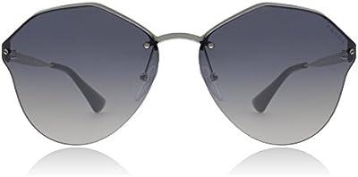 Prada 64TS 1BC5R0, Gafas de Sol Unisex, Silver, 66